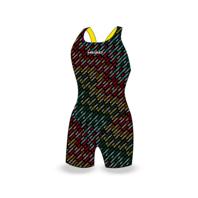 Product overview - TEAM PRINTED GIRL - KNEE SUIT - KNEE LEG CUT colors