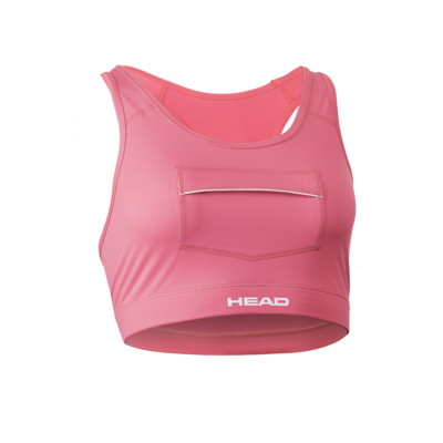 Product overview - SWIMRUN BRA WITH POCKETS pink