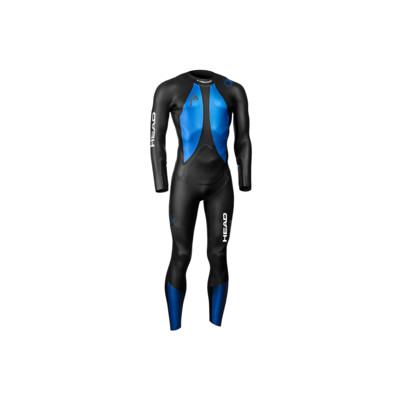 Product overview - HEAD Openwater X-TREAM FS 4.3.2 Neoprene Wetsuit black/blue