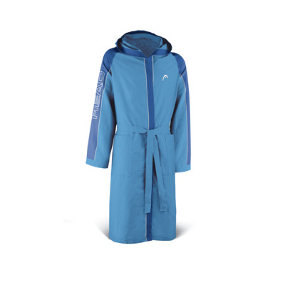 Product overview - BATHROBE MICROFIBER (JUNIOR) light blue/royal