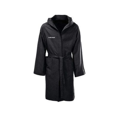 Product overview - BATHROBE MICROFIBER (ADULT) black