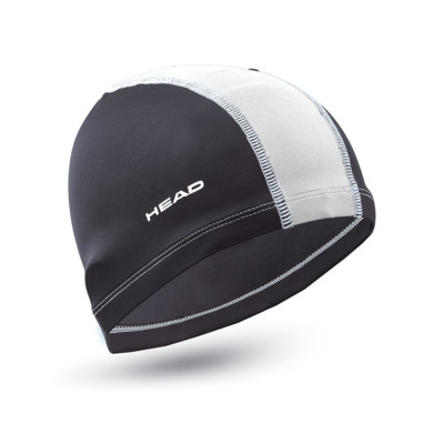 Product overview - POLYESTER JR SWIMCAP black/white