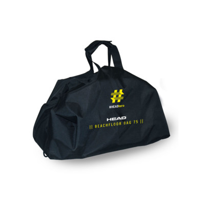 Product overview - HEAD HERO BEACHFLOOR BAG 75 black/white