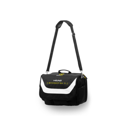 Product overview - HEAD HERO MESSENGER 15 black/white
