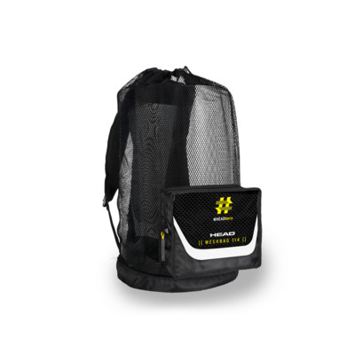 Product overview - HEAD HERO MESH BAG 114 black/white