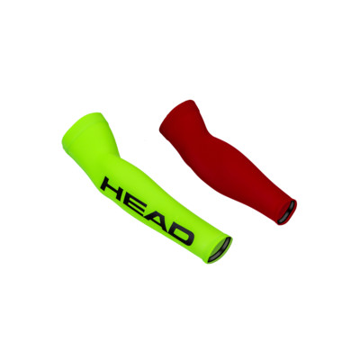 Product overview - NEON LYCRA SLEEVES red/yellow