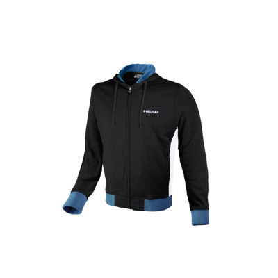 Product overview - TEAM SWEAT JACKET ZIPPER (ADULT) black