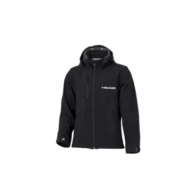 Product overview - SOFTSHELL JACKET W/HOOD (MAN) black