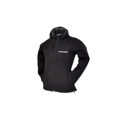 Product overview - SOFTSHELL JACKET W/HOOD (LADY) black