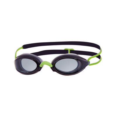 Product overview - Fusion Air Goggle Black/Lime - Tinted Smoke Lens