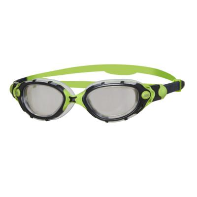 Product overview - Predator Flex Original Goggles Black/Green - Reactor Smoke Lens