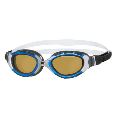 Product overview - Predator Flex Polarised Ultra Reactor Silver/Blue - Reactor Copper Lens