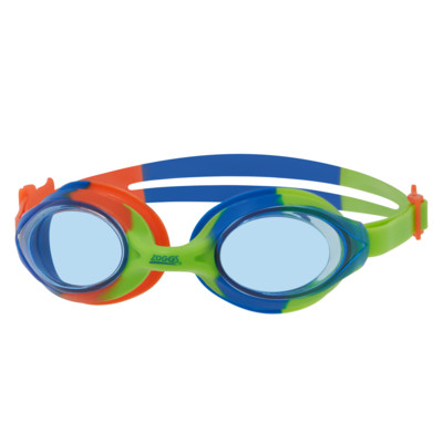 Product overview - Bondi Junior Goggles Green/Blue - Tinted Blue Lens