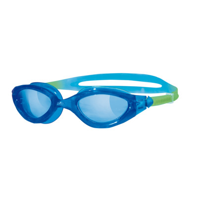Product overview - Panorama Junior Goggles Blue/Green - Tinted Blue Lens