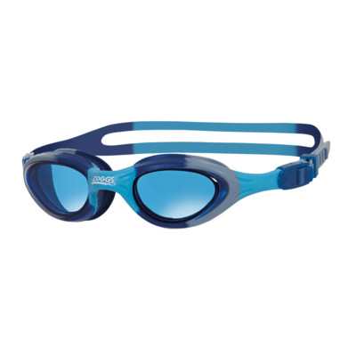 Product overview - Super Seal Junior Goggles Blue/Camo - Tinted Blue Lens