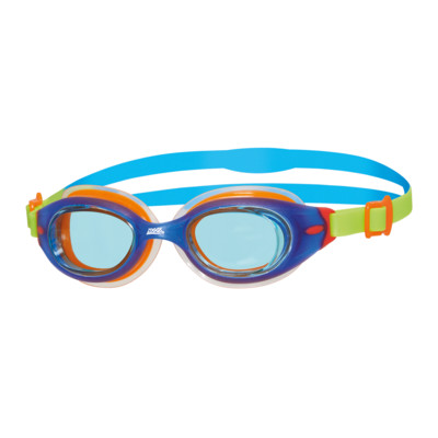 Product overview - Little Sonic Air Goggles Blue/Green - Tinted Blue Lens