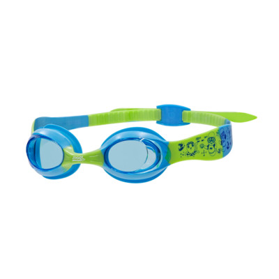 Product overview - Little Twist Goggles Blue/Green - Tinted Blue Lens