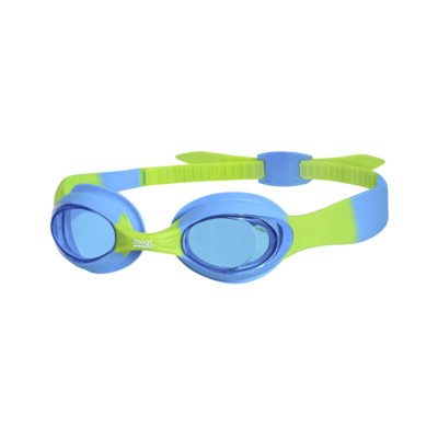 Product overview - Little Twist Goggles Light/Blue - Green/Tinted Blue Lens