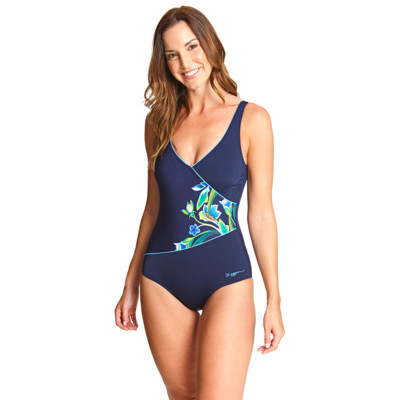 Product overview - Gladiolus Wrap Front One Piece GLDS