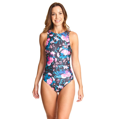 Product overview - Peninsula Hi Front Swimsuit PNSL
