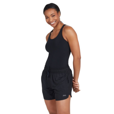Product overview - Indie Drawstring Short black
