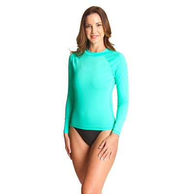 Product overview - Sunshine Long Sleeve Sun Top apple green