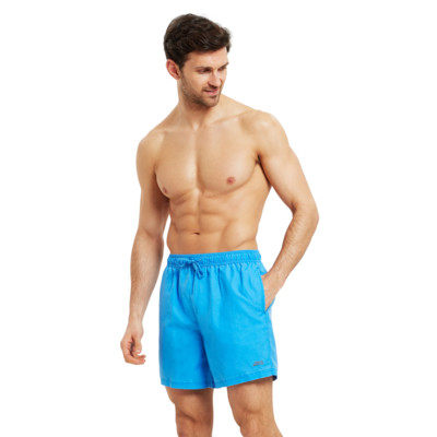 Product overview - Mens Mosman Washed 15 inch Shorts blue