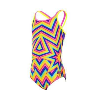 Product overview - Junior Girls Sasparilla Duoback Swimsuit