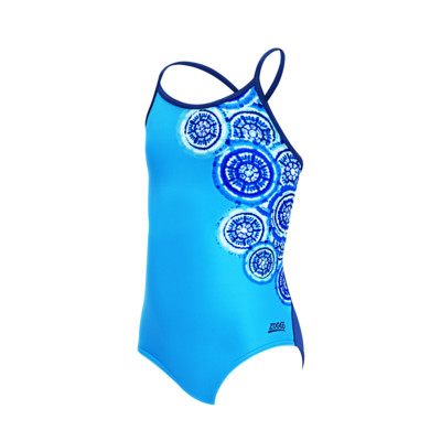 Product overview - Girls Carousel Tie Back One Piece CARF