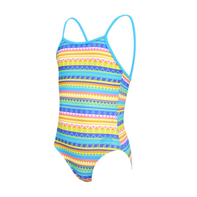 Product overview - Girls Rainbow Yaroomba Floral Swimsuit