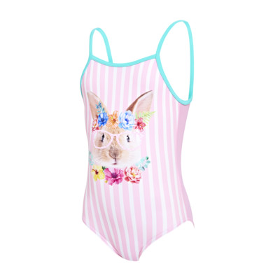 Product overview - Girls Tropical Bunny U Back