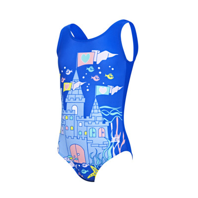 Product overview - Girls Undersea Scoopback Swimsuit