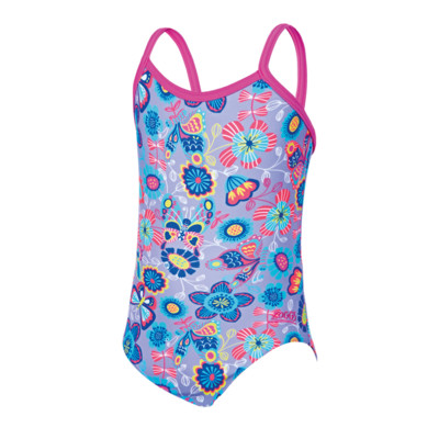 Product overview - Girls Wild Yaroomba Floral Swimsuit
