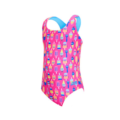 Product overview - Girls Ice Friends Actionback One Piece ICFR