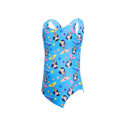 Product overview - Girls Hula Girl Scoopback One Piece HULA