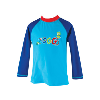 Product overview - Boys Fun Bots Long Sleeve Sun Protection Top