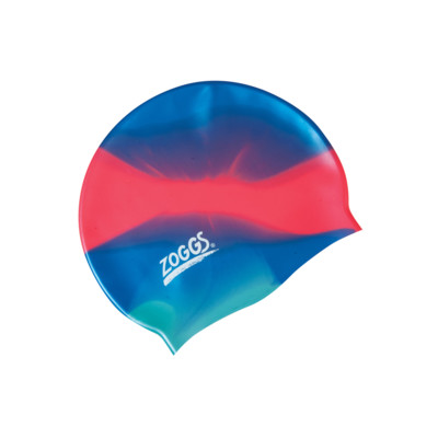 Product overview - Junior Silicone Cap Multi Colour blue/red