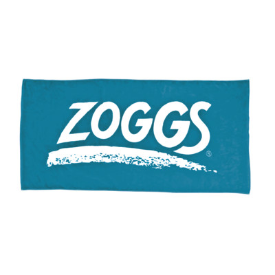 Product overview - Zoggs Unisex Adult Swimming Pool Towel blue