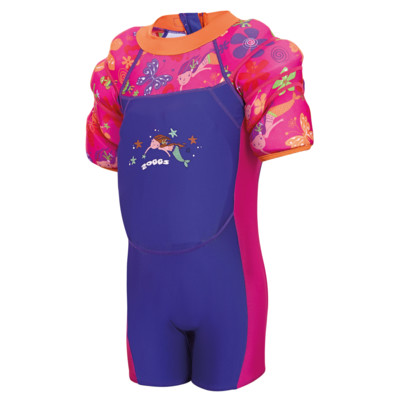 Product overview - Flower Water Wings Floatsuit