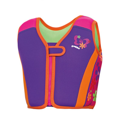 Product overview - Mermaid Flower Swim Jacket Pink