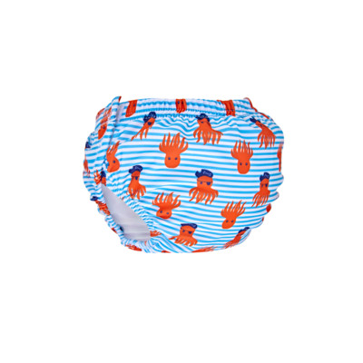 Product overview - Octo Pirate Adjustable Swim Nappy