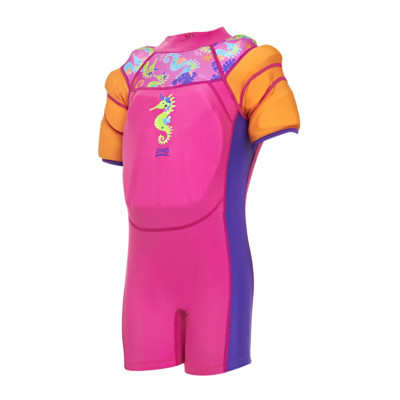 Product overview - Sea Unicorn Water Wings Floatsuit pink