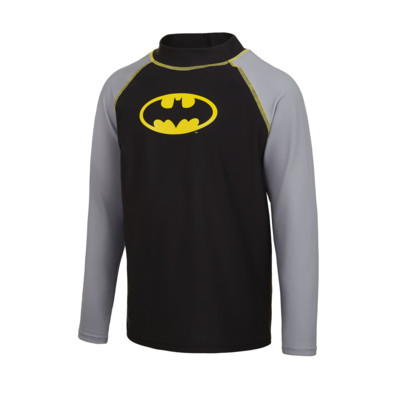 Product overview - Batman Junior Long Sleeve Sun Top