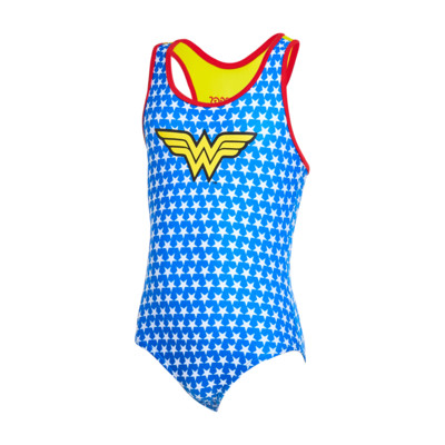 Product overview - Girls Wonder Woman Actionback blue