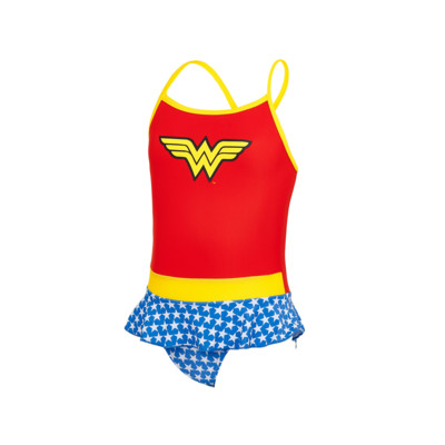 Product overview - Girls Wonder Woman Swimdress