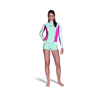 Product overview - Rash Guard Long Sleeve - She Dives pink
