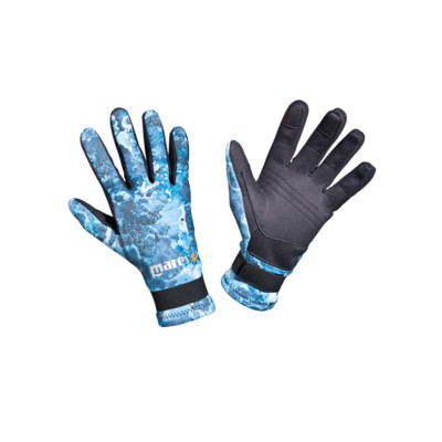 Product overview - Gloves Amara Camo Blue