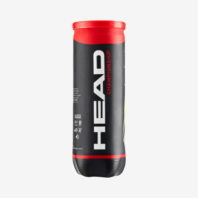 Product overview - HEAD CHAMPIONSHIP - 3 Ball Single Can