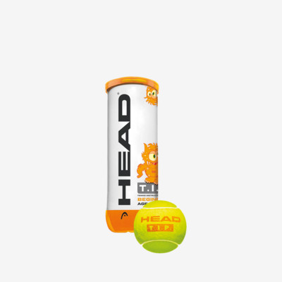 Product overview - HEAD T.I.P. Orange - 3 Ball Single Can