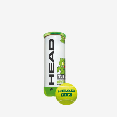 Product overview - HEAD T.I.P. Green - 3 Ball Single Can